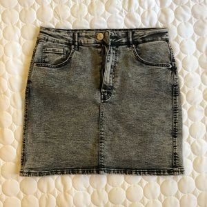 Zara Denim Mini Skirt